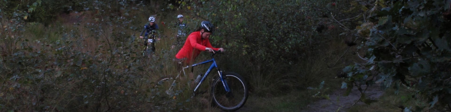 Time for mountain biking!