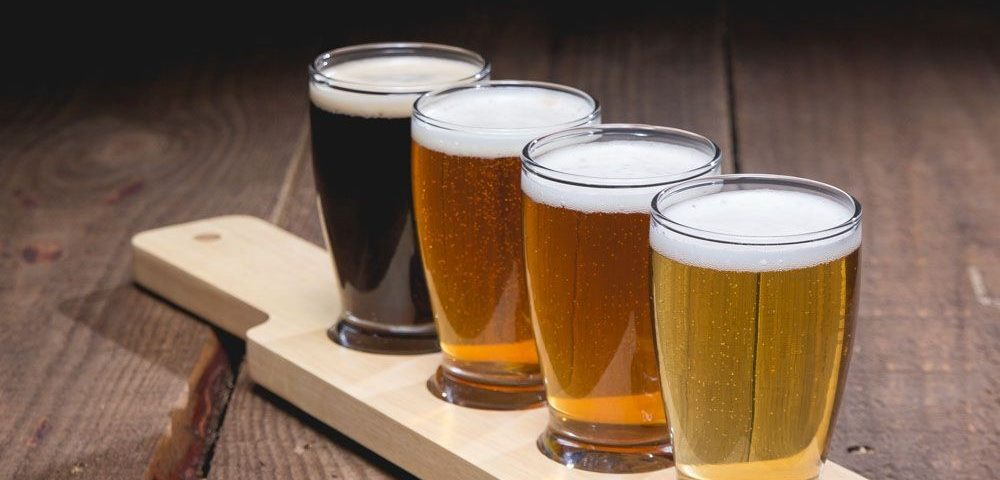 Brawny Badass Beer tasting